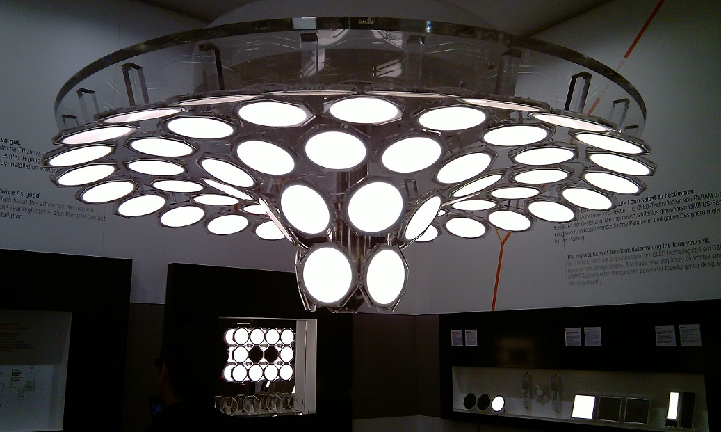 Стенд OSRAM Light + building 2012 во Франкфурте